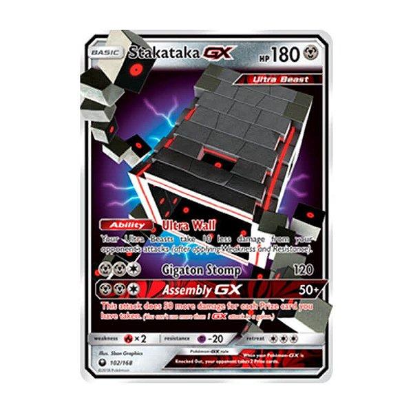 Pokémon TCG: Stakataka GX (102/168) - SM7 Tempestade Celestial