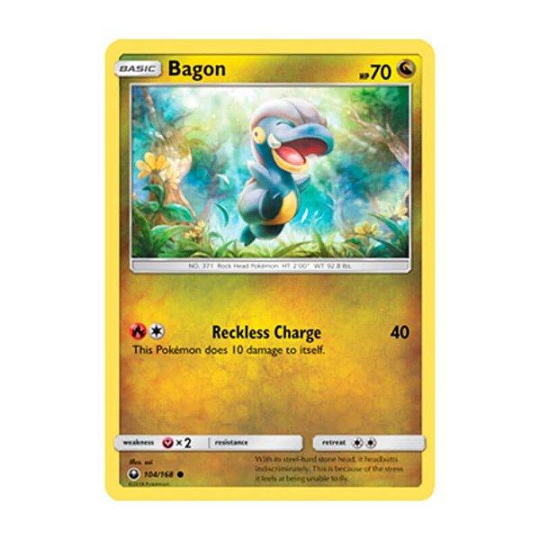 Pokémon TCG: Bagon (104/168) - SM7 Tempestade Celestial