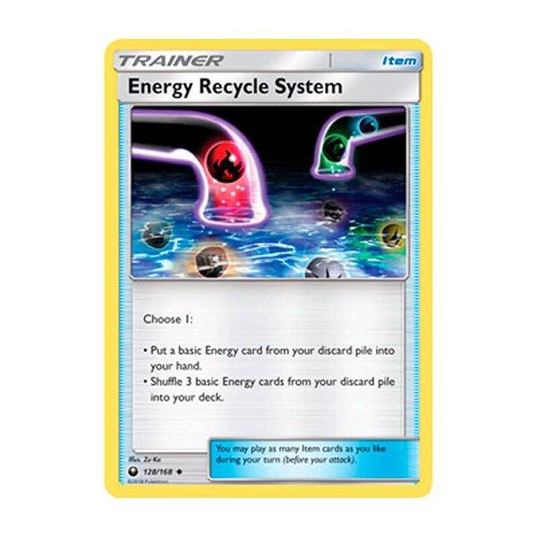Pokémon TCG: Sistema de Reciclagem de Energia (128/168) - SM7 Tempestade Celestial