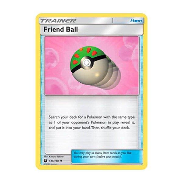 Pokémon TCG: Bola Amizade (131/168) - SM7 Tempestade Celestial