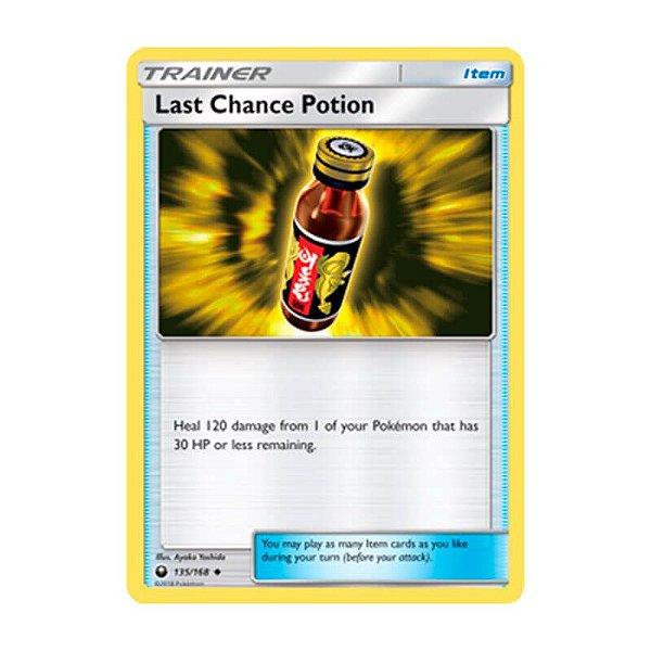 Pokémon TCG: Poção de Última Hora (135/168) - SM7 Tempestade Celestial