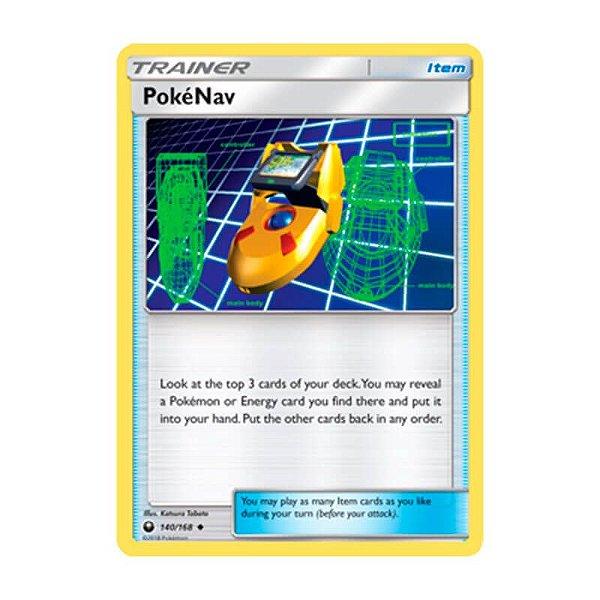 Pokémon TCG: PokéNav (140/168) - SM7 Tempestade Celestial