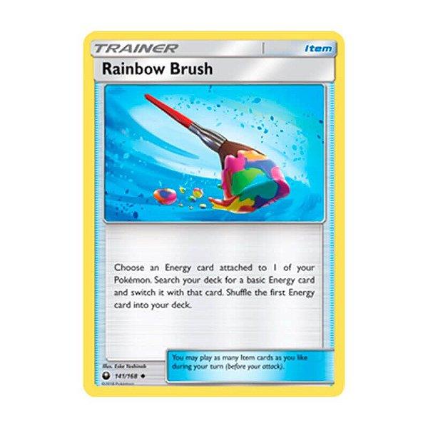 Pokémon TCG: Pincel Arco-Íris (141/168) - SM7 Tempestade Celestial