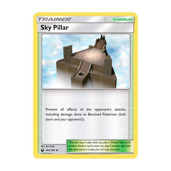 Pokémon TCG: Pilar Celeste (144/168) - SM7 Tempestade Celestial