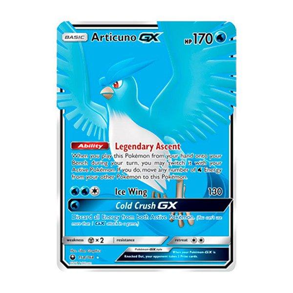 Pokémon TCG: Articuno GX (154/168) - SM7 Tempestade Celestial
