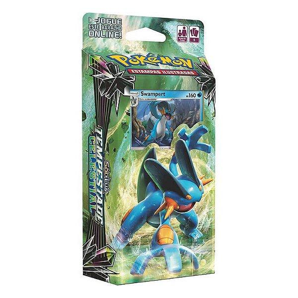Pokémon TCG: Deck SM7 Tempestade Celestial - Fúria Aquática