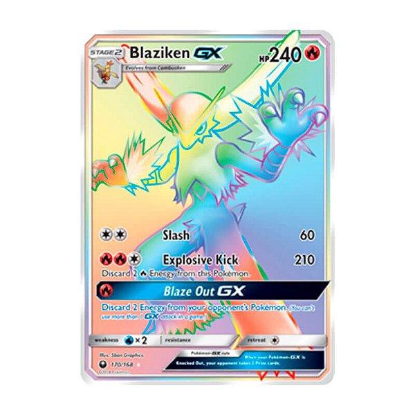 Pokémon TCG: Blaziken GX (170/168) - SM7 Tempestade Celestial