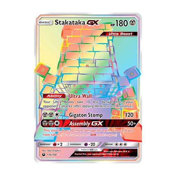 Pokémon TCG: Stakataka GX (176/168) - SM7 Tempestade Celestial
