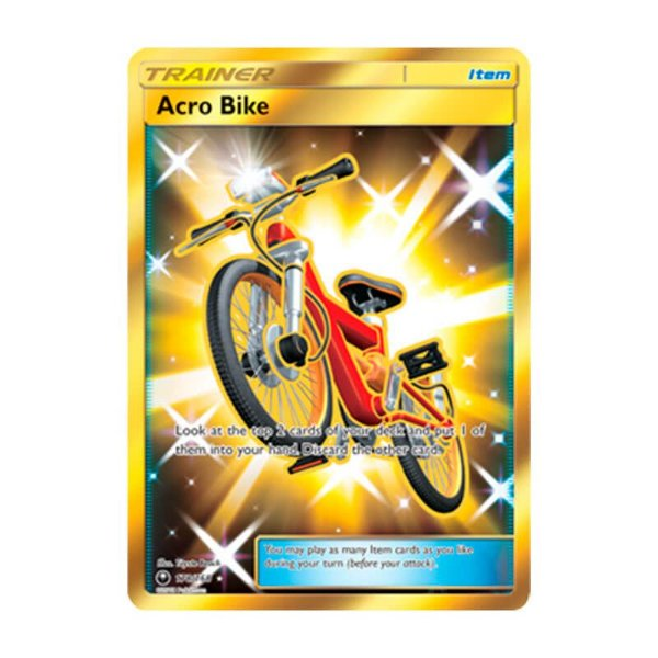 Pokémon TCG: Bicicleta Acro (178/168) - SM7 Tempestade Celestial