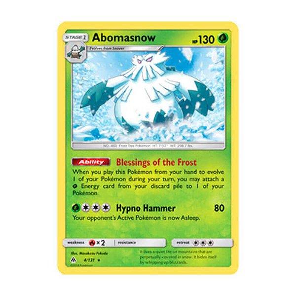 Pokémon TCG: Abomasnow (4/131) - SM6 Luz Proibida