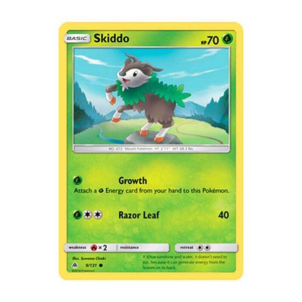Pokémon TCG: Skiddo (9/131) - SM6 Luz Proibida