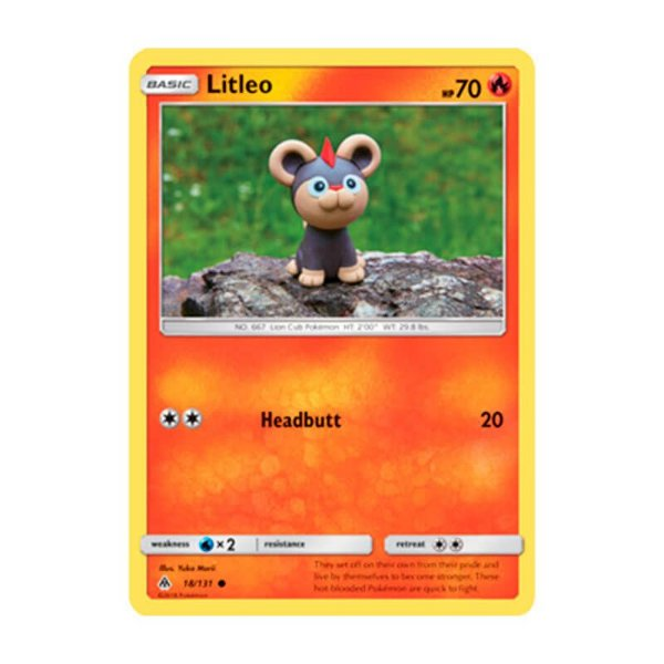 Pokémon TCG: Litleo (18/131) - SM6 Luz Proibida