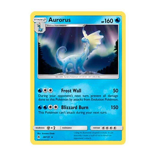 Pokémon TCG: Aurorus (28/131) - SM6 Luz Proibida