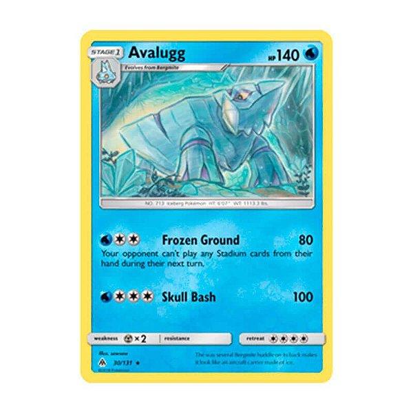 Pokémon TCG: Avalugg (30/131) - SM6 Luz Proibida