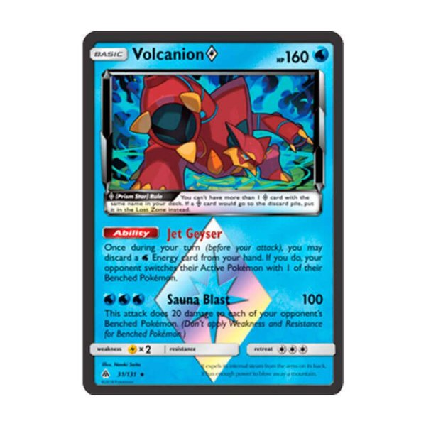 Pokémon TCG: Volcanion Estrela Prisma (31/131) - SM6 Luz Proibida
