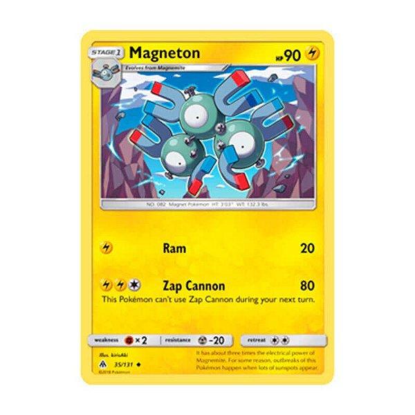Pokémon TCG: Magneton (35/131) - SM6 Luz Proibida