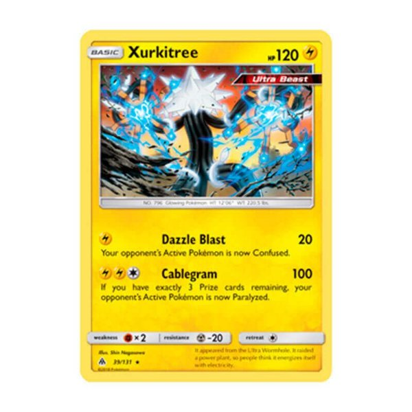 Pokémon TCG: Xurkitree (39/131) - SM6 Luz Proibida