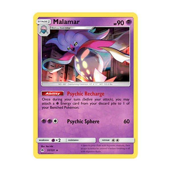 Pokémon TCG: Malamar (51/131) - SM6 Luz Proibida