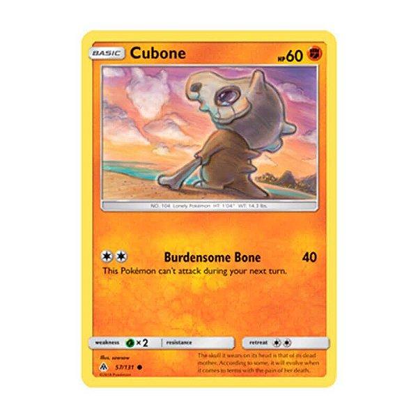Pokémon TCG: Cubone (57/131) - SM6 Luz Proibida
