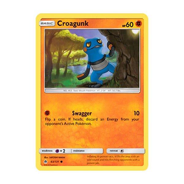 Pokémon TCG: Croagunk (63/131) - SM6 Luz Proibida