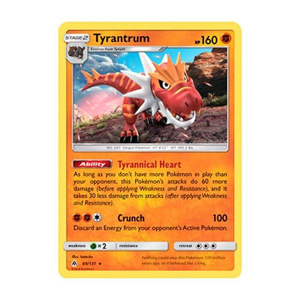 Pokémon TCG: Tyrantrum (69/131) - SM6 Luz Proibida