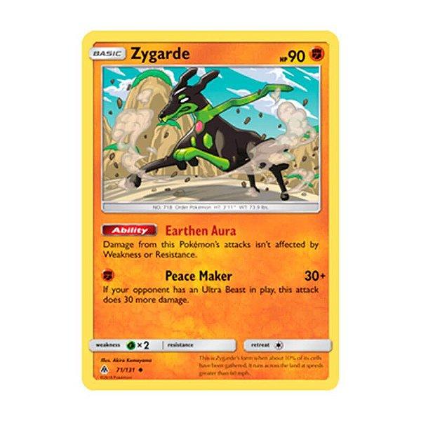 Pokémon TCG: Zygarde (71/131) - SM6 Luz Proibida