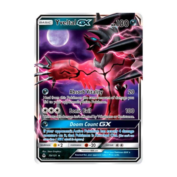 Pokémon TCG: Yveltal GX (79/131) - SM6 Luz Proibida