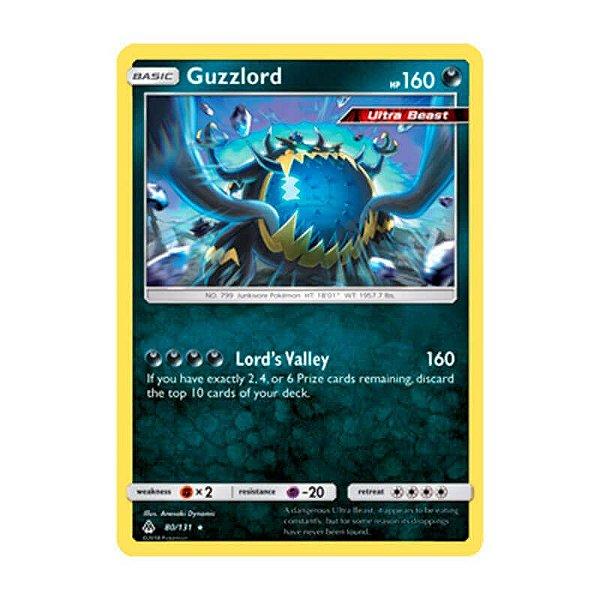 Pokémon TCG: Guzzlord (80/131) - SM6 Luz Proibida