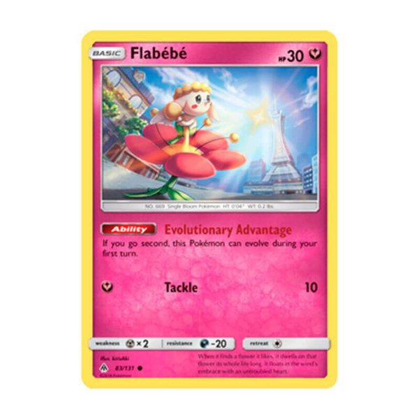 Pokémon TCG: Flabébé (83/131) - SM6 Luz Proibida