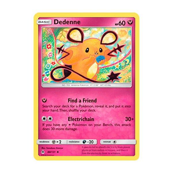 Pokémon TCG: Dedenne (88/131) - SM6 Luz Proibida