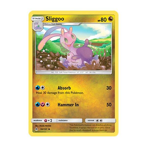 Pokémon TCG: Sliggoo (93/131) - SM6 Luz Proibida