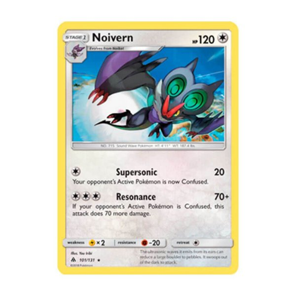 Pokémon TCG: Noivern (101/131) - SM6 Luz Proibida