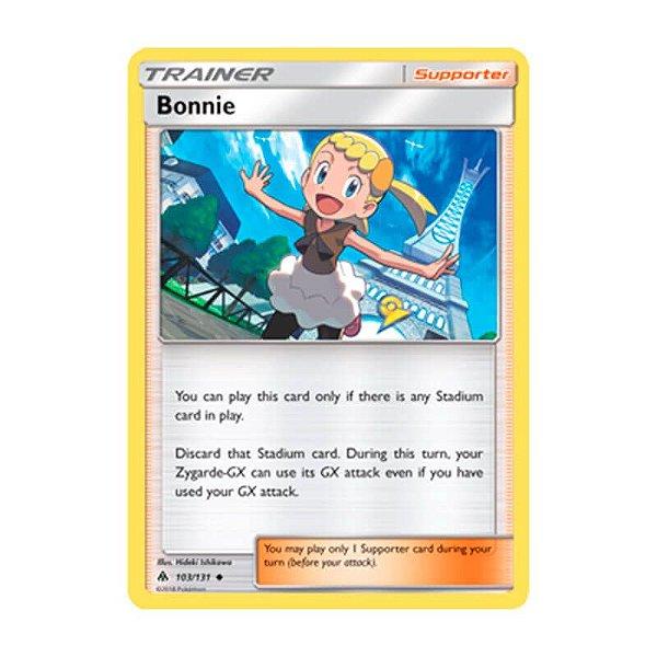 Pokémon TCG: Bonnie (103/131) - SM6 Luz Proibida