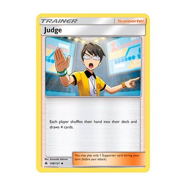 Pokémon TCG: Juiz (108/131) - SM6 Luz Proibida