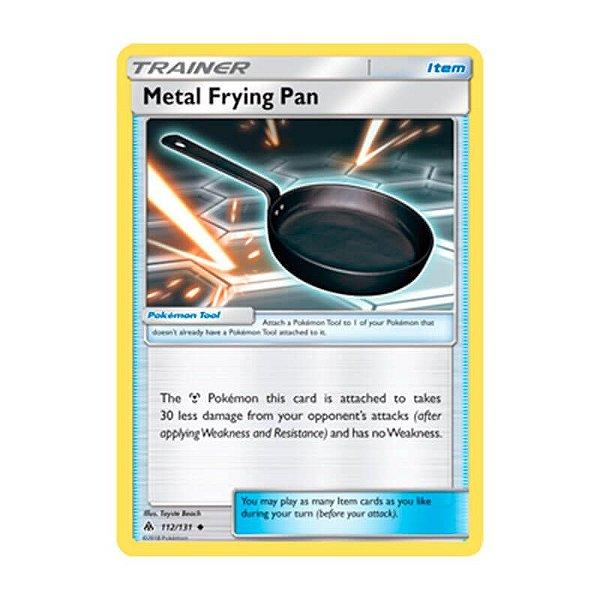 Pokémon TCG: Frigideira de Metal (112/131) - SM6 Luz Proibida
