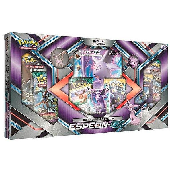 Pokémon TCG: Box Coleção Premium - Espeon-GX
