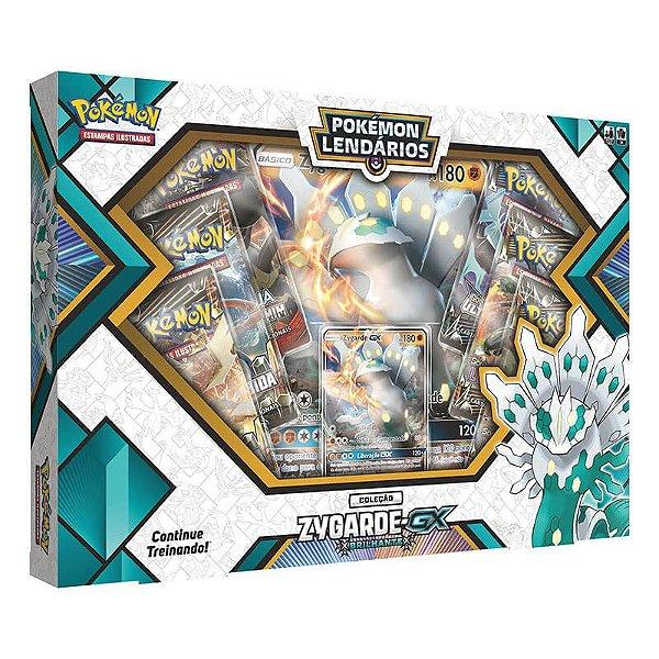 Pokemon TCG: Box Pokemon Lendarios - Zygarde-GX Brilhante