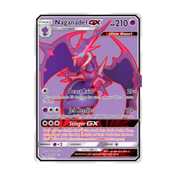 Pokémon TCG: Naganadel GX (121/131) - SM6 Luz Proibida
