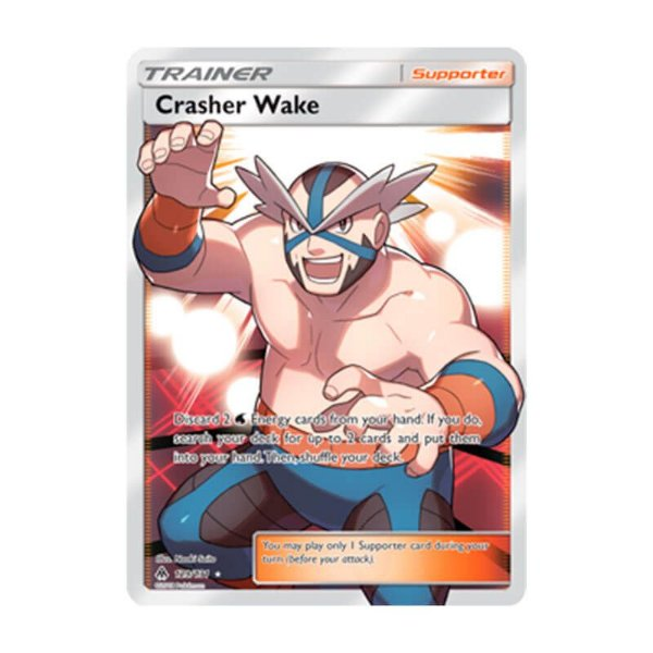 Pokémon TCG: Demolidor Wake (129/131) - SM6 Luz Proibida