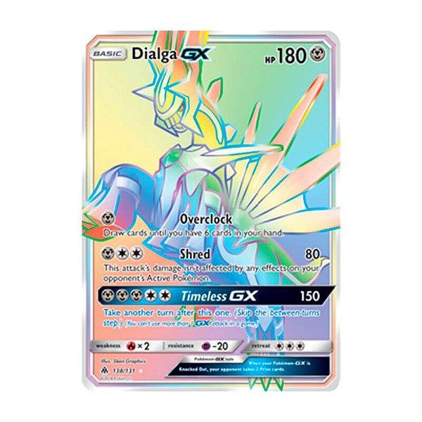 Pokémon TCG: Dialga GX (138/131) - SM6 Luz Proibida