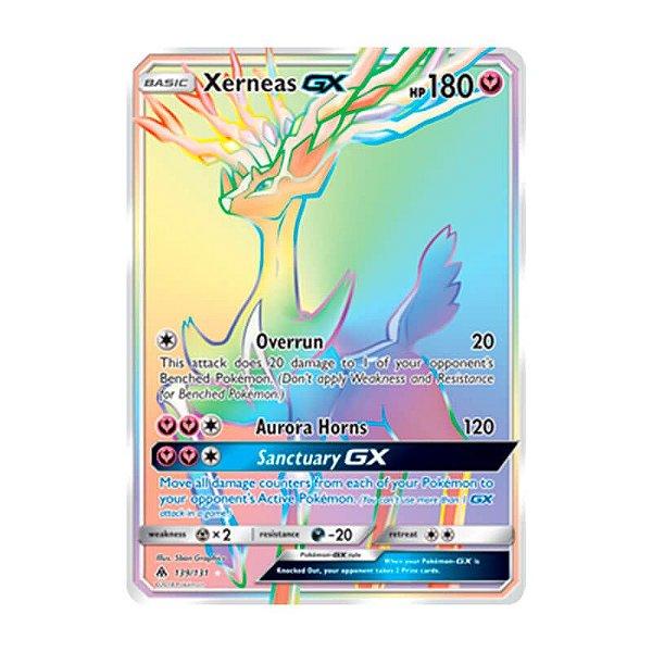 Pokémon TCG: Xerneas GX (139/131) - SM6 Luz Proibida