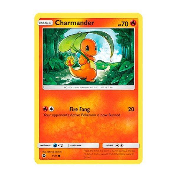 Pokémon TCG: Charmander (1/70) - SM7.5 Dragões Soberanos