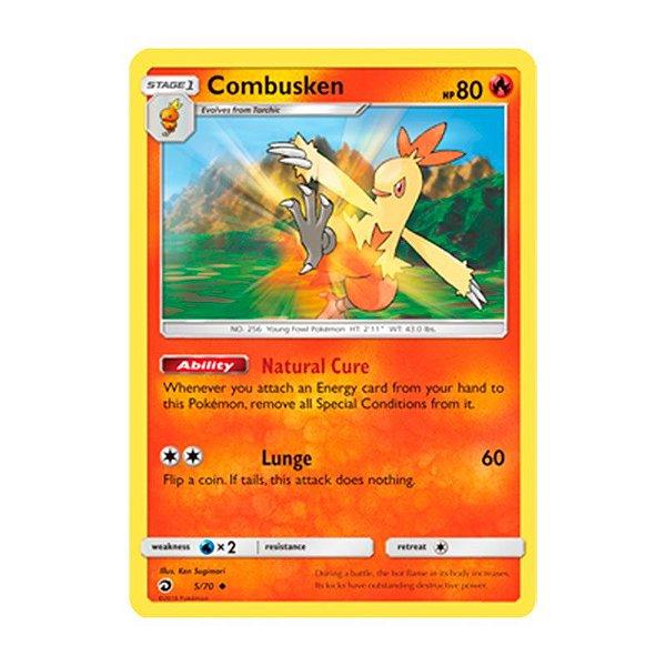 Pokémon TCG: Combusken (5/70) - SM7.5 Dragões Soberanos