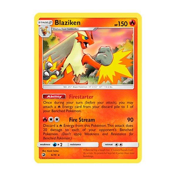 Pokémon TCG: Blaziken (6/70) - SM7.5 Dragões Soberanos