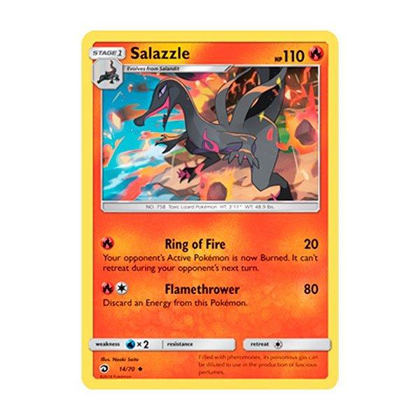 Pokémon TCG: Salazzle (14/70) - SM7.5 Dragões Soberanos