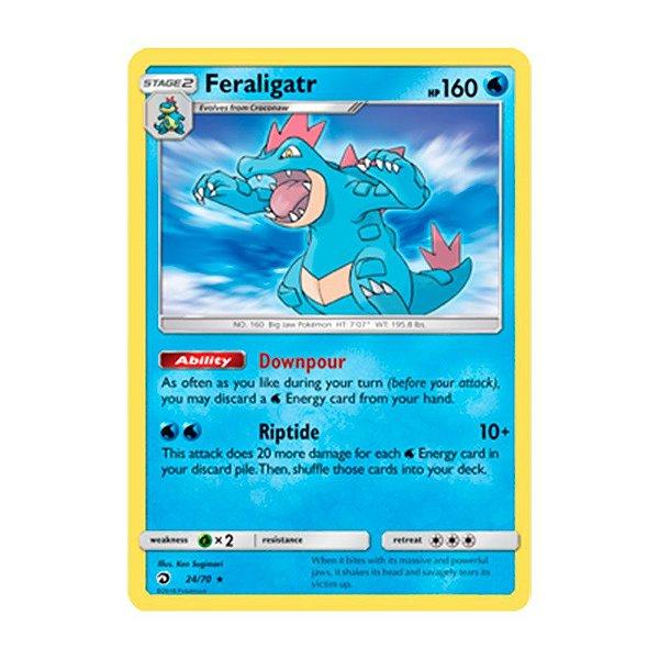 Pokémon TCG: Feraligatr (24/70) - SM7.5 Dragões Soberanos