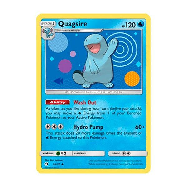 Pokémon TCG: Quagsire (26/70) - SM7.5 Dragões Soberanos