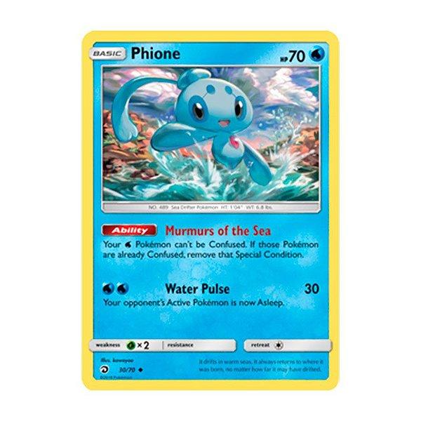 Pokémon TCG: Phione (30/70) - SM7.5 Dragões Soberanos