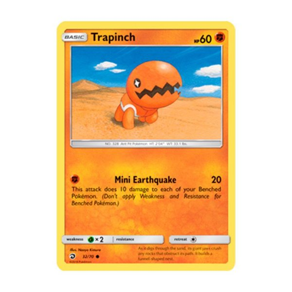 Pokémon TCG: Trapinch (32/70) - SM7.5 Dragões Soberanos