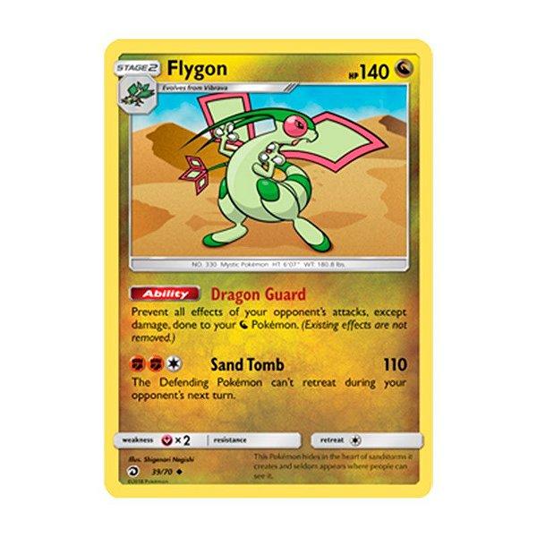 Pokémon TCG: Flygon (39/70) - SM7.5 Dragões Soberanos